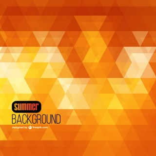 Summer Geometric Background Free Vector
