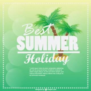 Summer Holiday Graphics Free Vector
