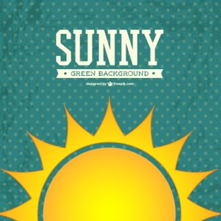 Sunny Background Free Vector