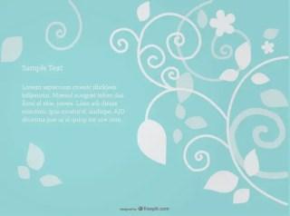 Swirl Stylish Background Design Free Vector