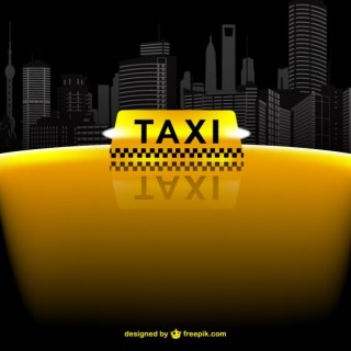 Taxi Template Free Vector