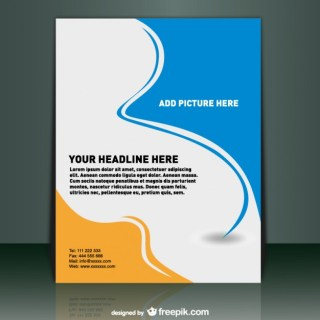 Template Mock-Up Design Free Vector
