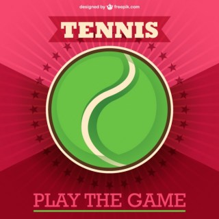 Tennis Ball Template Free Vector