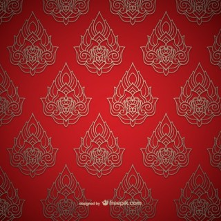 Thai Pattern Free Vector