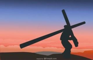 The Crucifixion Scene Free Vector