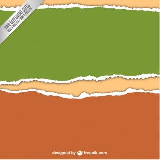 Torn Paper Background Free Vector