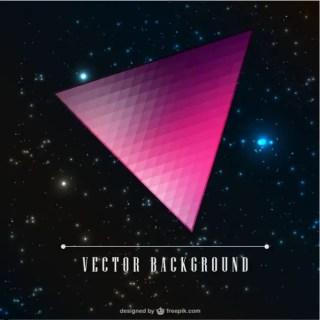 Triangle Galaxy Design Free Vector
