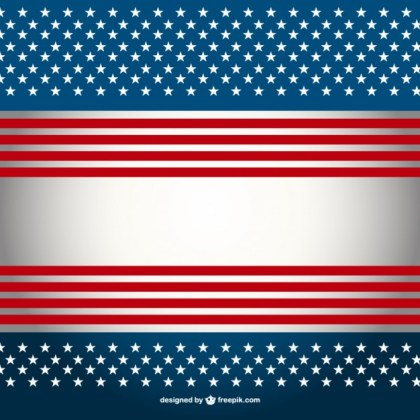United States Flag Wallpaper Free Vector