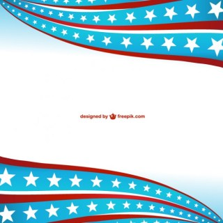 United States of America Symbolic Background Free Vector