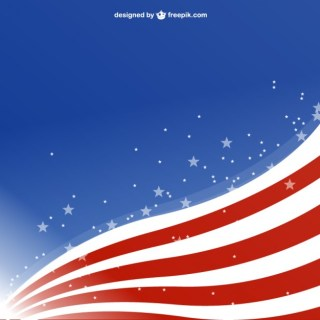 Usa Free Background Template Design Free Vector