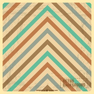 Vintage Abstract Design Free Vector