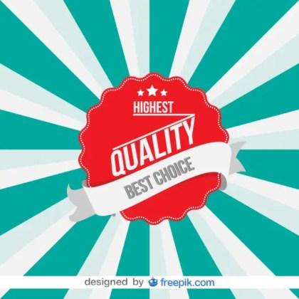 Vintage High Quality Badge Design Free Vector