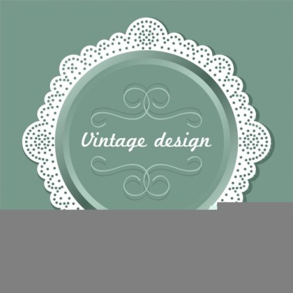 Vintage Label Design Free Vector