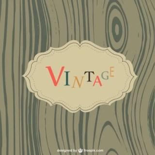 Vintage Wood Texture Free Vector