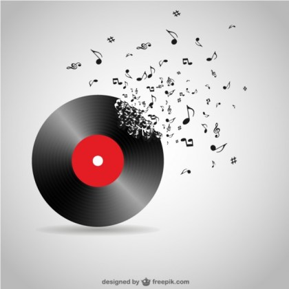 Vinyl Record Free Download Free Vector