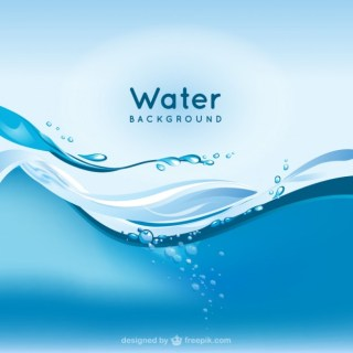 Water Background Free Vector