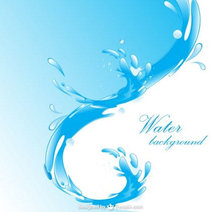 Water Free Background Free Vector