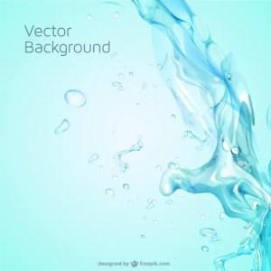 Water Splash Free Template Free Vector