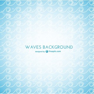Waves Background Pattern Free Vector