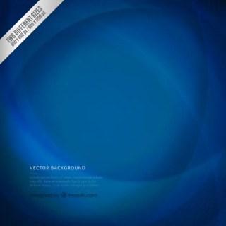 Wavy Background in Navy Blue Tones Free Vector