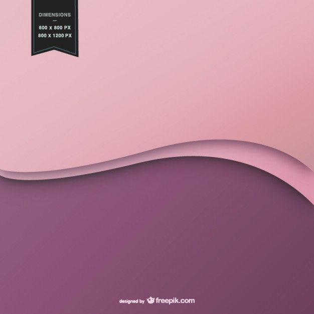 Wavy Background in Two Colors Free Vector