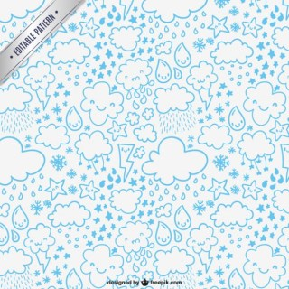 Weather Pattern Free Vector