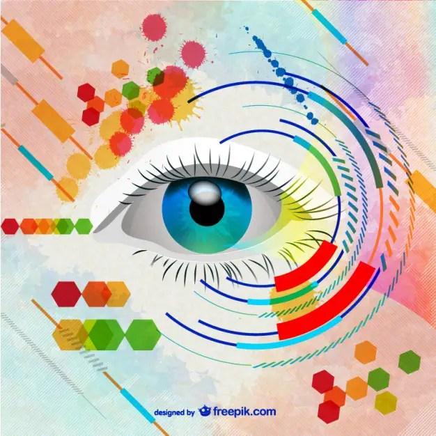 Woman Eye Art Free Vector