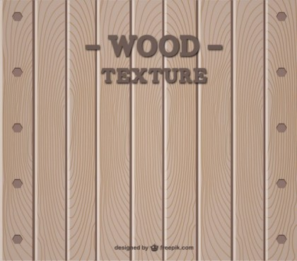 Wood Template Design Free Vector