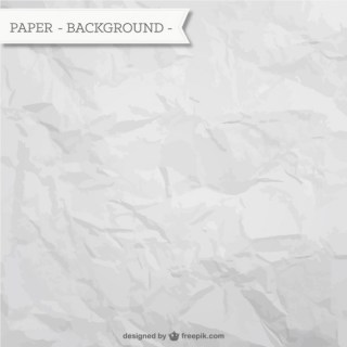 Wrinkled Paper Background Free Vector