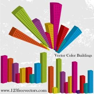 Vector Color Buildings