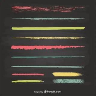 Chalk Lines Texture Vector Graphics Free Vectors