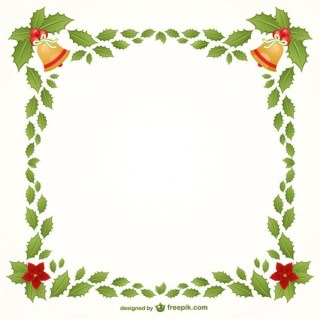 Christmas Frame Free Vectors
