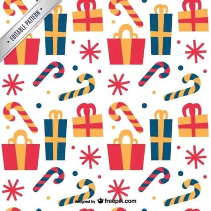 Christmas Pattern Free Vectors