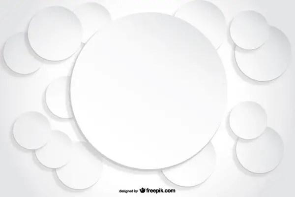 Circle Background Paper Cutout Effect Free Vectors