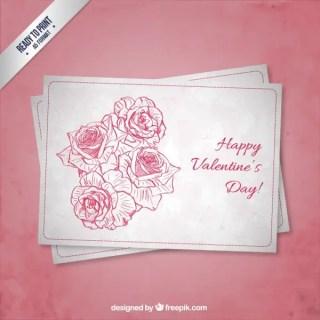 Cmyk Grunge Valentine's Card Free Vectors