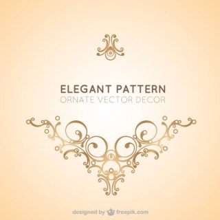 Elegant Vector Decorative Ornament Free Vectors