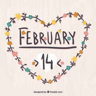 February 14 Heart Free Vectors