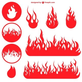 Flame Free Vector Graphics Free Vectors
