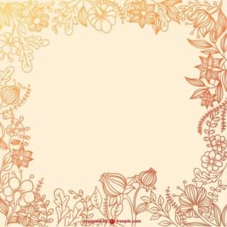 Floral Frame Free Vectors