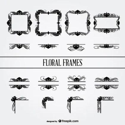 Floral Ornaments Free Download Free Vectors