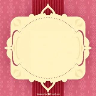Free Ornate Frame Vector Free Vectors