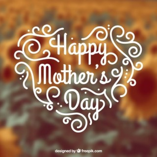 Hand Written Card For Mothers Day Free Vectors