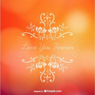 I Will Love You Forever Free Vectors
