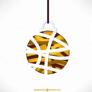 Minimalist Christmas Ball Vector Free Vectors
