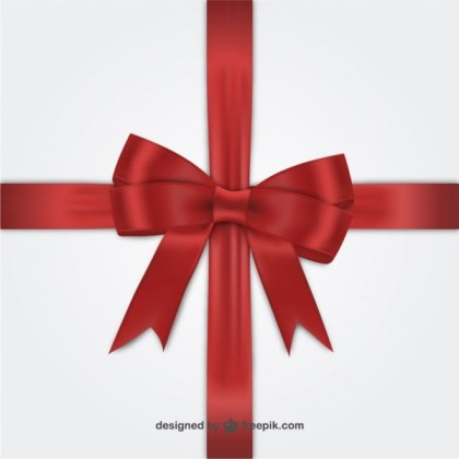 Red Ribbon For Black Friday Free Vectors