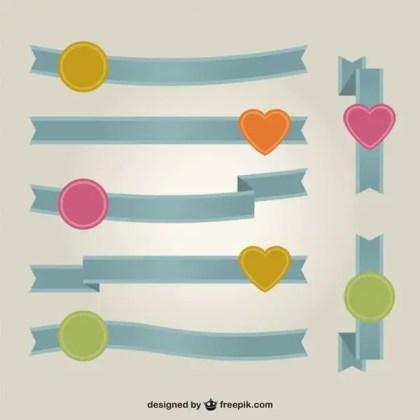 Ribbon Banner Vector Art Free Free Vectors