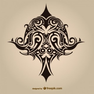 Tribal Asbtract Tattoo Vector Graphics Free Vectors