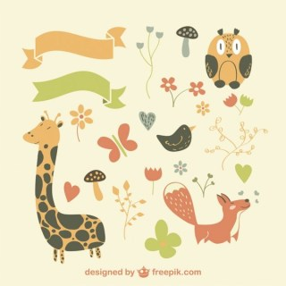 Vector Animals Collection Graphic Elements Free Vectors
