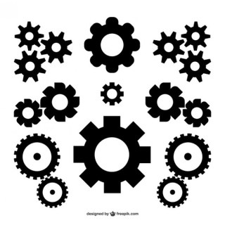 Vector Gears Free Download Free Vectors