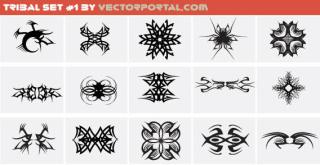 Tribal Set Free Vector